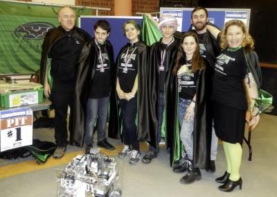 L'equipe AISB de robotique (1)